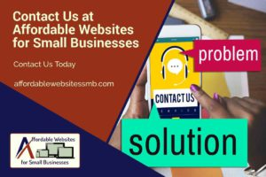 Affordable Websites for Small Businesses Contact Us Social